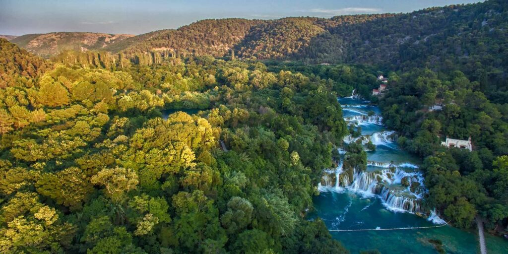BUS TOUR TO KRKA